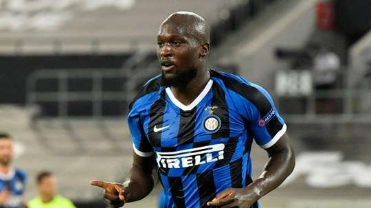 Romelu Lukaku scored in Inter's quarter-final win over Leverkusen. AFP