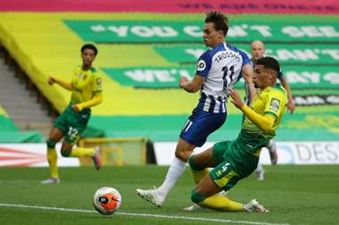 Trossard lifts Brighton as Norwich slip closer to relegation. AFP