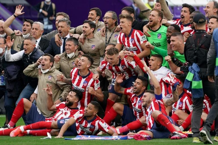 Atlético campeón Primera División 2020-21