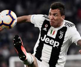 Mario Mandzukic may be on his way out of Turin this summer. AFP