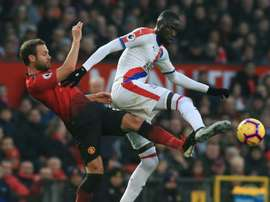 Palace frustrated Man United. AFP