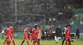 El Bayern patinó en la DFB Pokal. AFP