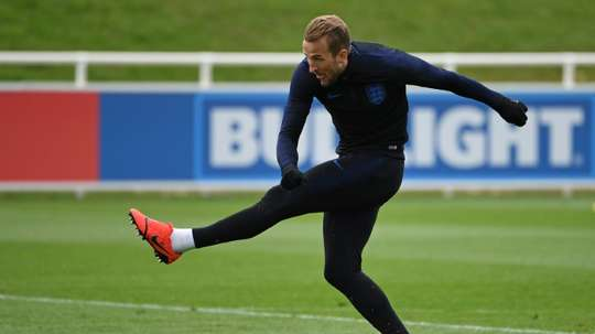 Harry Kane won the World Cup golden boot. AFP
