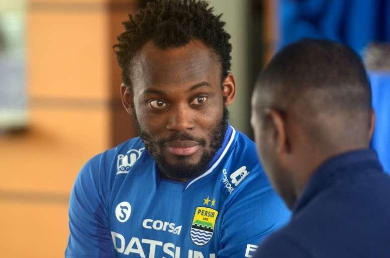 Persib Bandung é o novo clube de Essien. AFP