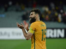 Jedinak boasts a perfect penalty rate. AFP
