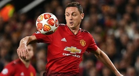 Nemanja Matic is determined for United to qualify for next season's Champions League. AFP