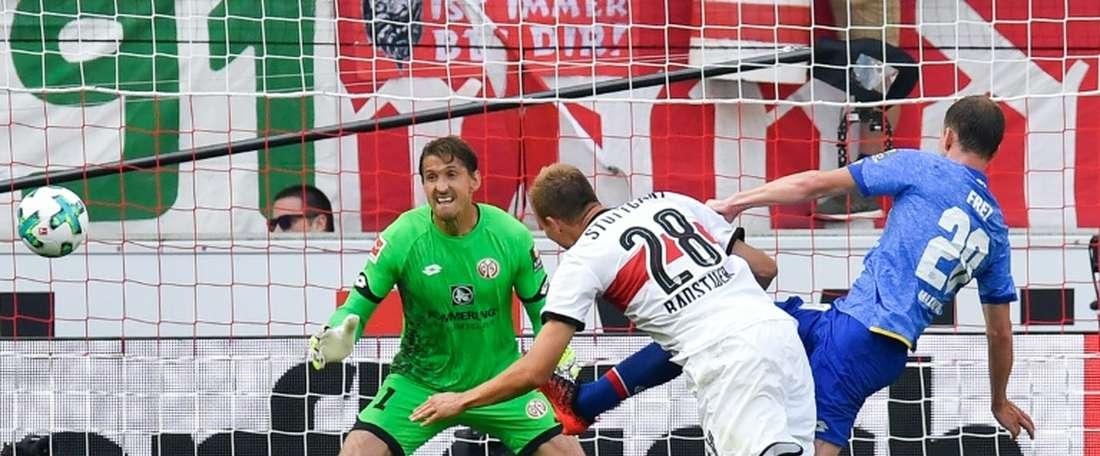 O Mainz  está no 15º lugar da Bundesliga. EFE