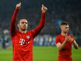 Thiago is closer to Liverpool. AFP