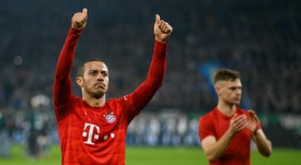 Thiago Alcântara é desejo do Liverpool segundo a imprensa alemã. AFP