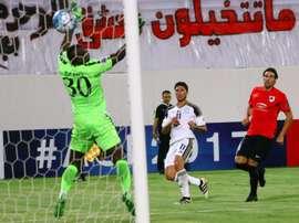 Al Rayyan se impuso por 7-3 al Al-Gharafa. AFP