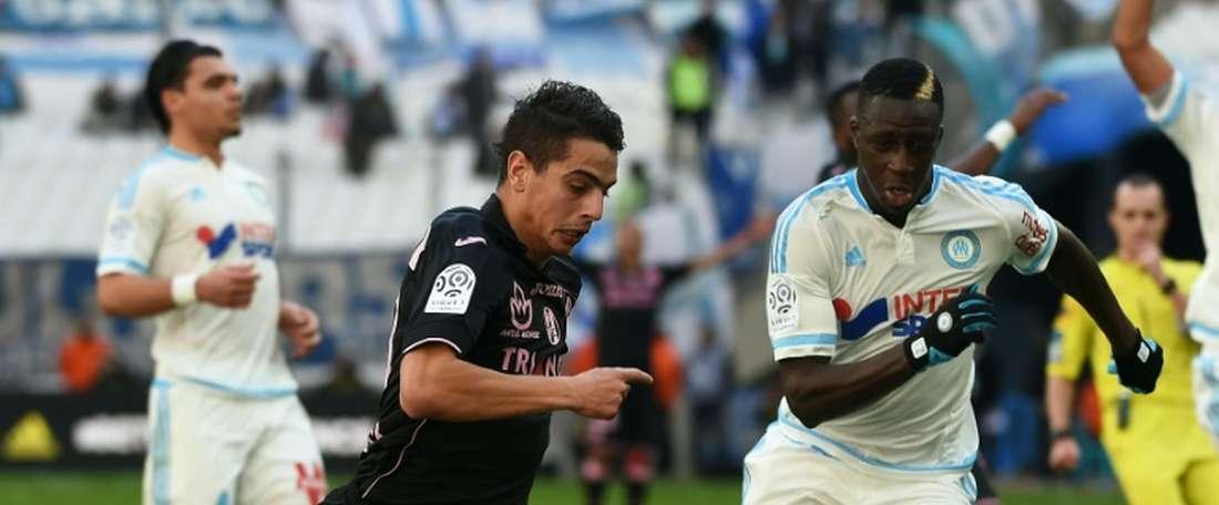 El Olympique de Marsella no pudo vencer como local y cedió un empate ante el Toulouse. AFP