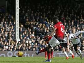Berbatov ne voit pas Pogba loin de Manchester United. AFP