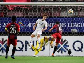 Serginho edges holders Kashima to slim AFC first leg lead. AFP