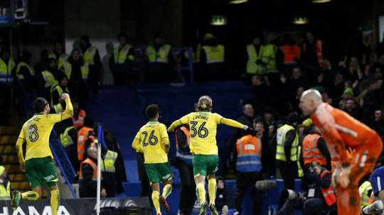 Norwich are to return to the Premier League. AFP