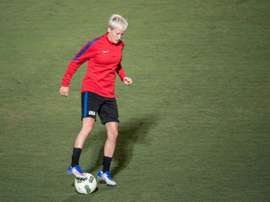 Megan Rapinoe said, Being a gay American, I know what it means to look at the flag and not have it protect all of your liberties
