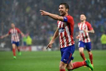 Gabi está de vuelta por el Atleti, como prometió. AFP/Archivo