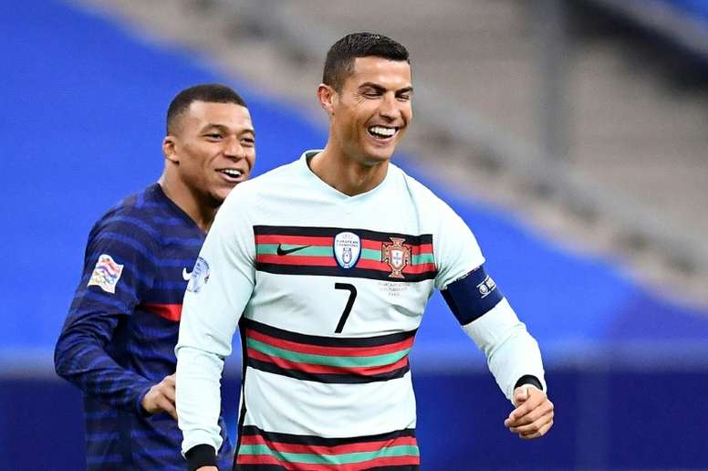 Cristiano Ronaldo tested positive for Covid-19 after facing France in the Nations League. AFP