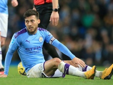 David Silva races to recover from injury in time for Real Madrid clash. AFP