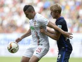 Bobadilla es la opción preferida por el Hull City. AFP
