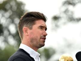 Harry Kewell is aiming big in his managerial career. AFP
