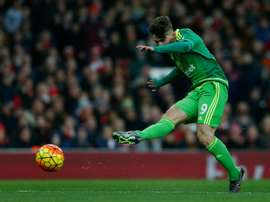 Sunderland's striker Fabio Borini has scored just three goals this season. BeSoccer