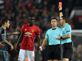 Eric Bailly foi castigado pela UEFA. AFP