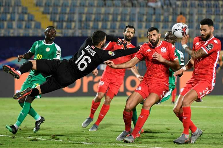 Bronn's own goal was enough to take Senegal through to the final. AFP