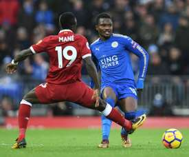 Amartey has successfully undergone surgery on an ankle injury.  AFP