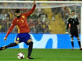 Gerard Piqué recalled Spain's World Cup victory. AFP