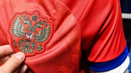 Rusia publicly complain about their new kit. AFP