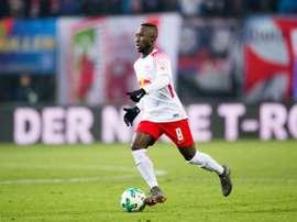 Le RB Leipzig se renforcera avec un joueur du RB Salzbourg. AFP