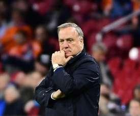 Dick Advocaat prolonge d'un an à Feyenoord. AFP