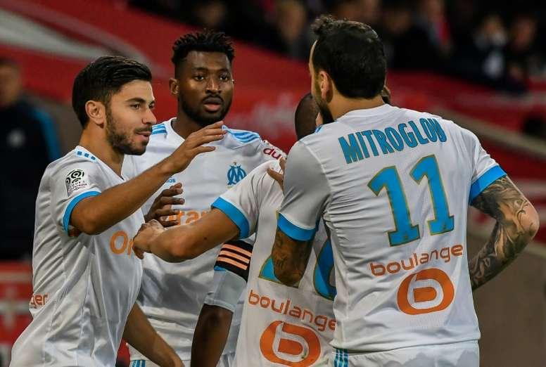 Marseille sera quasiment au complet pour le déplacement à Rennes. AFP
