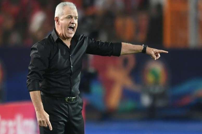 Las diez víctimas de la Copa África en los banquillos. AFP
