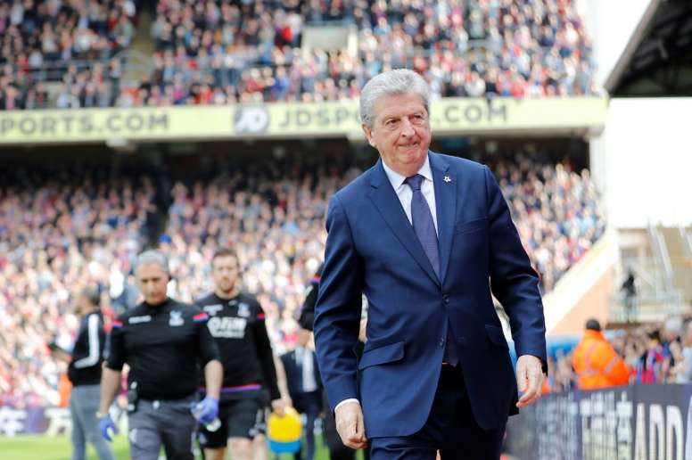 Hodgson supported Palace as a boy. AFP