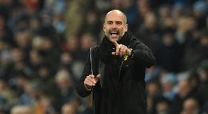 Leao has caught the eye of City boss Pep Guardiola. AFP