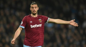 Andy Carroll will play for Newcastle on Saturday for first time since his return in the summer. AFP