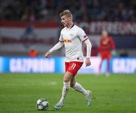 O Liverpool entra na briga por Werner. AFP
