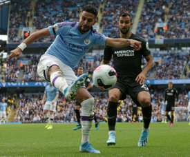 In-form Mahrez aims to drive Man City's trophy push. AFP