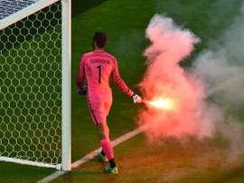 Babacan no da la eliminatoria por perdida. AFP/Archivo