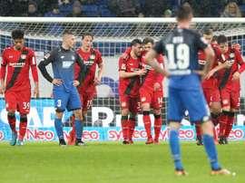 Continua a excelente época do Leverkusen. EFE