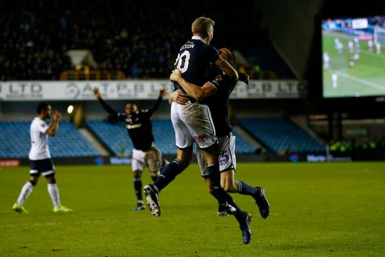 An exceptional result for Millwall was marred by alleged racist chanting. AFP