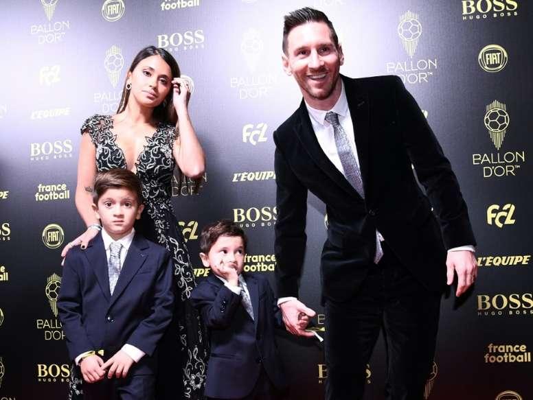 Messi já é único. AFP