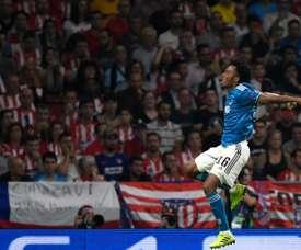 50ème match européen pour Cuadrado. AFP