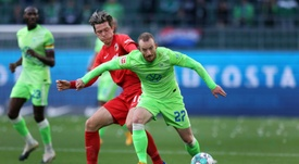 Wolfsburg midfielder Maximilian Arnold made his only Germany appearance in 2014. AFP