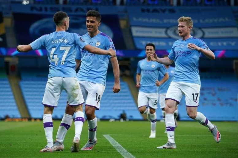 Premier League battle for Champions League places heats up. AFP