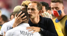 Mbappé podrá jugar ante el Niza. AFP