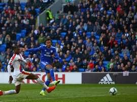 Cardiff, relégué en Championship. AFP