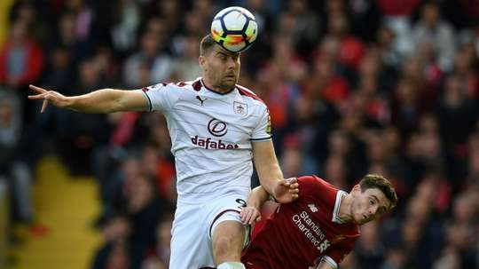 Vokes will be at Turf moor until 2021. AFP