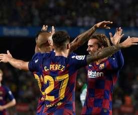 Carles Pérez prolongera automatiquement s'il continue de jouer. EFE